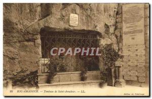 Old Postcard Tomb of Saint Amadour Rocamadour