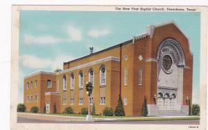 The New First Baptist Church, Texarkana, Texas, 1930-1940s