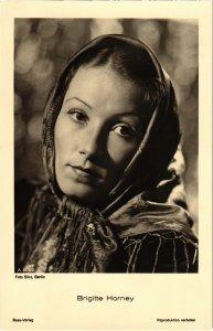 CPA AK FILM STAR Brigitte Horney Ross Verlag (93992)