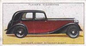 Player Vintage Cigarette Card Motor Cars 1st Series 1936 No 15 Daimler Light ...