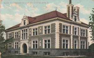 CLEVELAND , Ohio , 1909 ; Cleveland School of Art