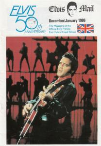 Elvis Mail Christmas Dec 1986 Gregg Geller RCA Catalogue Magazine