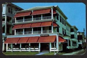 NJ Shawmont Hotel OCEAN GROVE NEW JERSEY Postcard PC