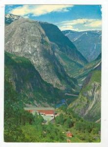 View Of The Naeroy Valley & The Stalheim Hotel, Norway, 1950-60s