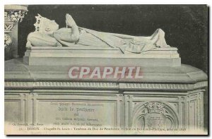 Old Postcard Dreux Chapelle St Louis Tomnbeau Penrhievre Child of the Duke of...