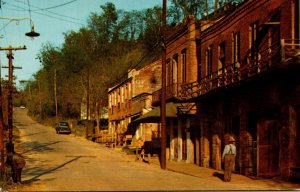 Mississippi Natchez Under The Hill Street Scene
