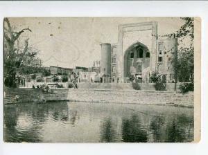 270516 Uzbekistan BUKHARA Lyab-i Hauz & mosque Zain-ed-Din OLD