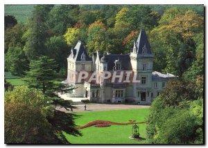 Postcard Modern Castle Ligneres Charente Cognac Bisquit Domain