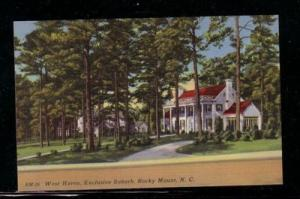 North Carolina colour PC West Haven, Exclusive Suburb, Rocky Mount, unused