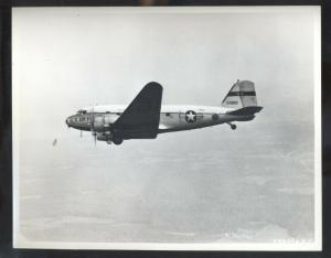 U.S. AIR FORCE DOUGLAS C-47 ANDREWS AFB MARYLAND REAL PHOTO PHOTOGRAPH