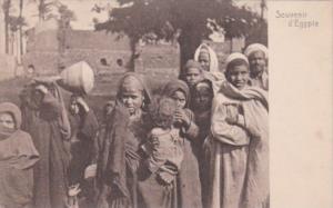 Egypt Cairo Local Children In Traditional Costume