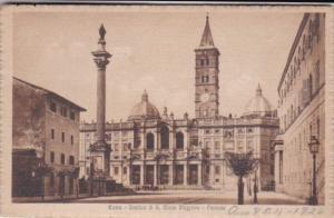 Italy Roma Basilica di San Maria Maggiore Facciata