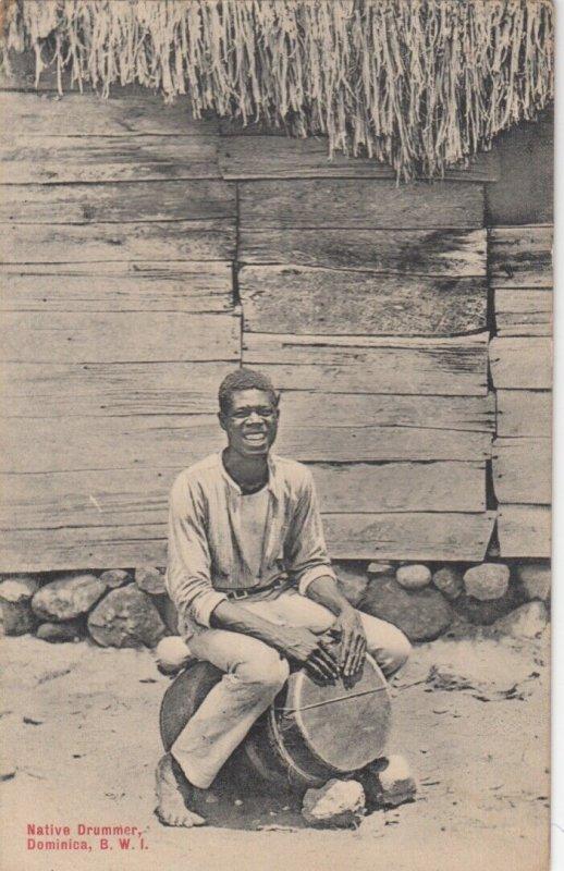 DOMINICA , B.W.I. , 00-10s ; Native Drummer Boy