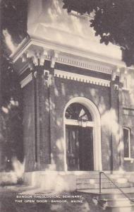 Maine Bangor Theological Seminary The Open Door Bangor Artvue