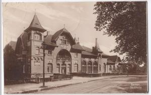 Germany; Wuppertal, Barmen, Town Hall RP PPC 1937 PMK to Palmer, Notts, GB