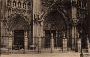CPA Toledo Puertas Principales de la Catedral SPAIN (743856)