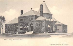 26007 MA, Somerville, 1908, Public Library