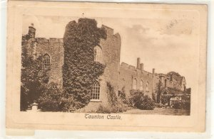 Taunton Castle. Tuck Plate-marked Sepis Ser. PC # 2651