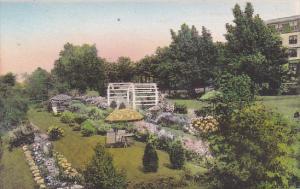 Maine Ogunquit Lookout Hotel Terrace Garden and Garden of the Pines Albertype