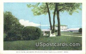 City Park, Bathing Pavilion & Pier in Gulfport, Mississippi