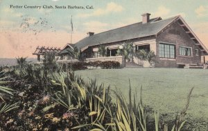 SANTA BARBARA, California, PU-1918; Potter Country Club