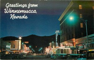 Autos Theater Marquee Night Neon Business Winnemucca Nevada Colorpicture 9819