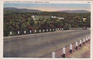 Massachusetts Greenfield Approaching French King Bridge