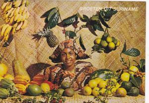 Surinam . Surinaamse vruchten , 50-70s