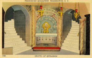DC - Washington. Franciscan Monastery. Grotto of Bethlehem