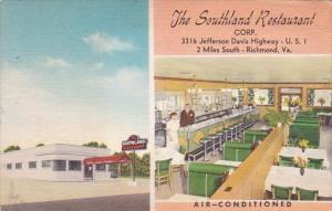 The Southland Restaurant Richmond Virginia