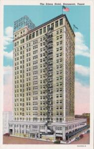 Texas Beaumont The Edson Hotel Curteich