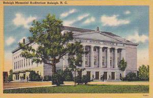 Raleigh Memorial Auditorium, Raleigh, North Carolina, 30-40´s