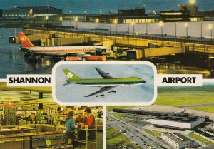 SHANNON Airport , Ireland , 1950-60s ; Jet Airplanes