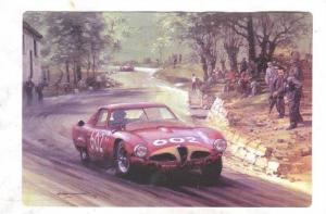 Racing postcard by Artist Michael TURNER, 1995 ; #13