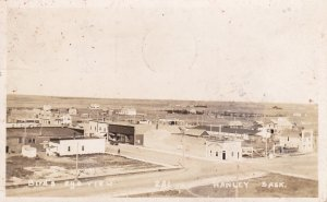 RP: HANLEY , Saskatchewan , Canada , PU-1925 ; Panorama View