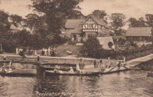 Eccleston Ferry on the Dee , CHESTER , England , 00-10s