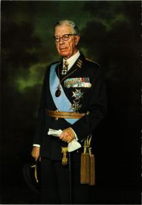 CPM AK HM Koning Gustaf VI Adolf SWEDISH ROYALTY (845223)