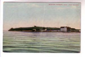 Harbor, Fort Warren, Boston Massachusetts, Mason Bros, Printed in Germany, Bo...