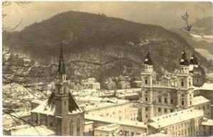 RP  Rooftop view, Salzburg, Austria, PU-1912