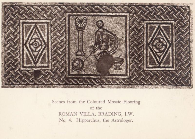 Hipparchus Isle Of Wight Astrology Astrologer Roman Antique Astronomy Postcard