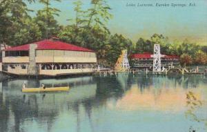 Arkansas Eureka Springs Canoeing On Lake Lucerne Curteich