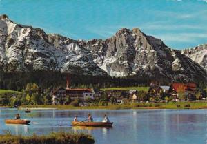 Austria Seefeld mit Wettersteingebirge