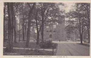 Steuben Park & Armory, Utica, New  York, 1910-1920s
