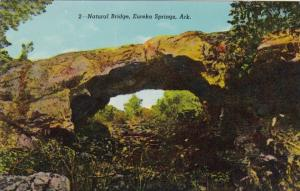 Arkansas Eureka Springs Natural Bridge Curteich