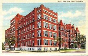 Ohio Hamilton Mercy Hospital Curteich
