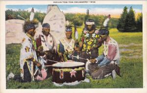 Indian Tom-Tom Drummers, 1910-20s