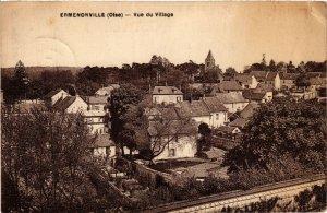CPA ERMENONVILLE - Vue du Village (423482)