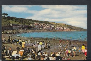 Dorset Postcard - The Beach and Marine Parade, Lyme Regis    T7198