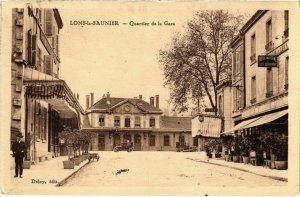 CPA Lons le Saunier- Quartier de la Gare FRANCE- (1044299)