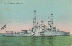 Battleship USS SOUTH CAROLINA , 00-10s